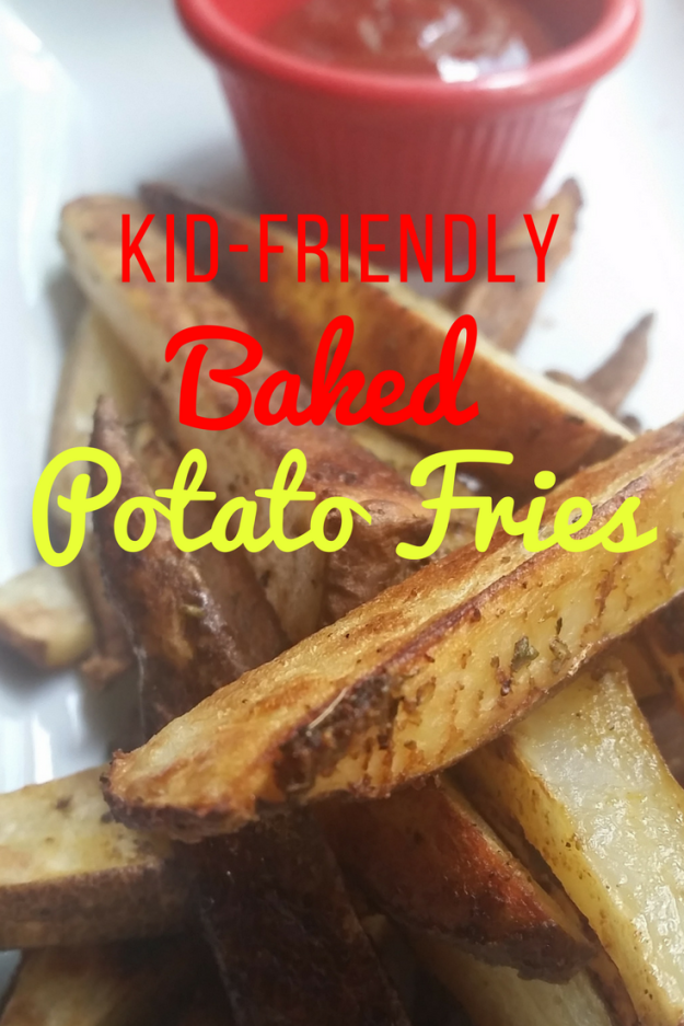 Kid-Friendly Baked Potato Fries