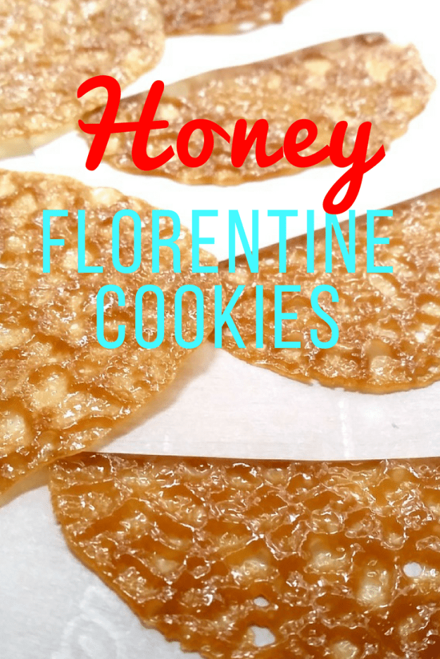 Honey Florentine Cookies