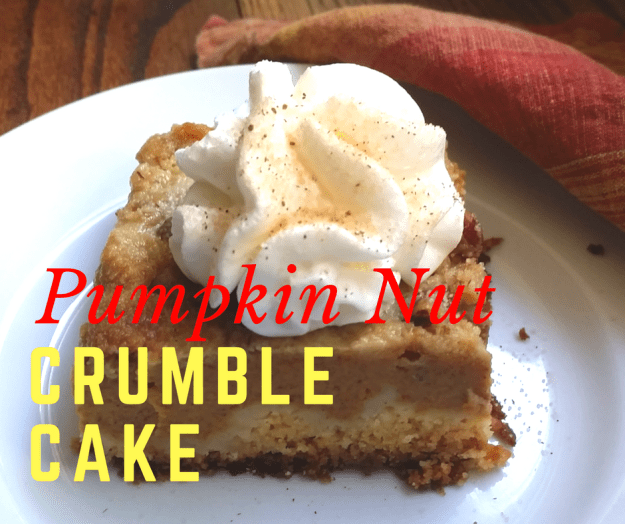 Pumpkin Nut Crumble Cake