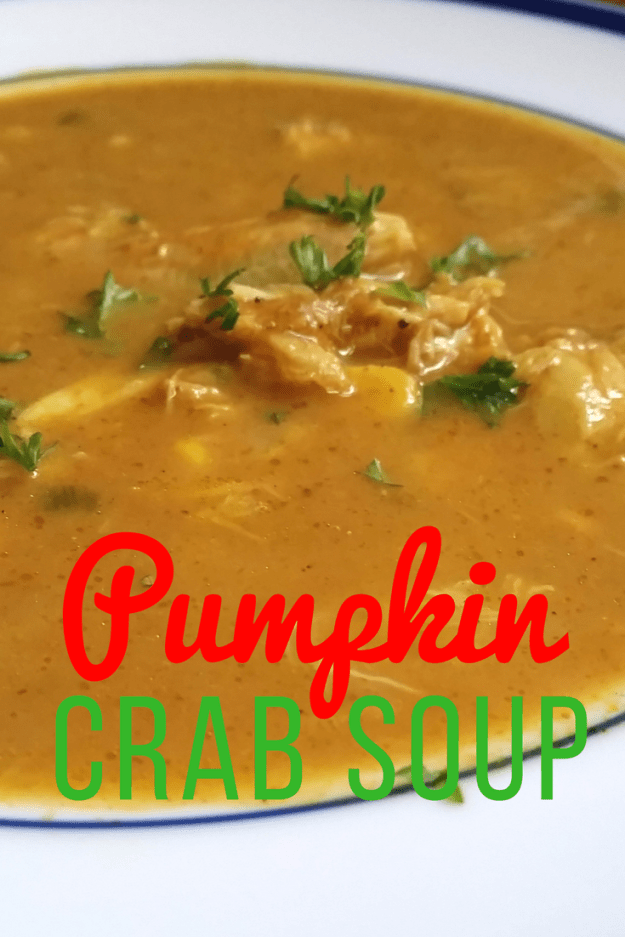 Pumpkin Crab Soup