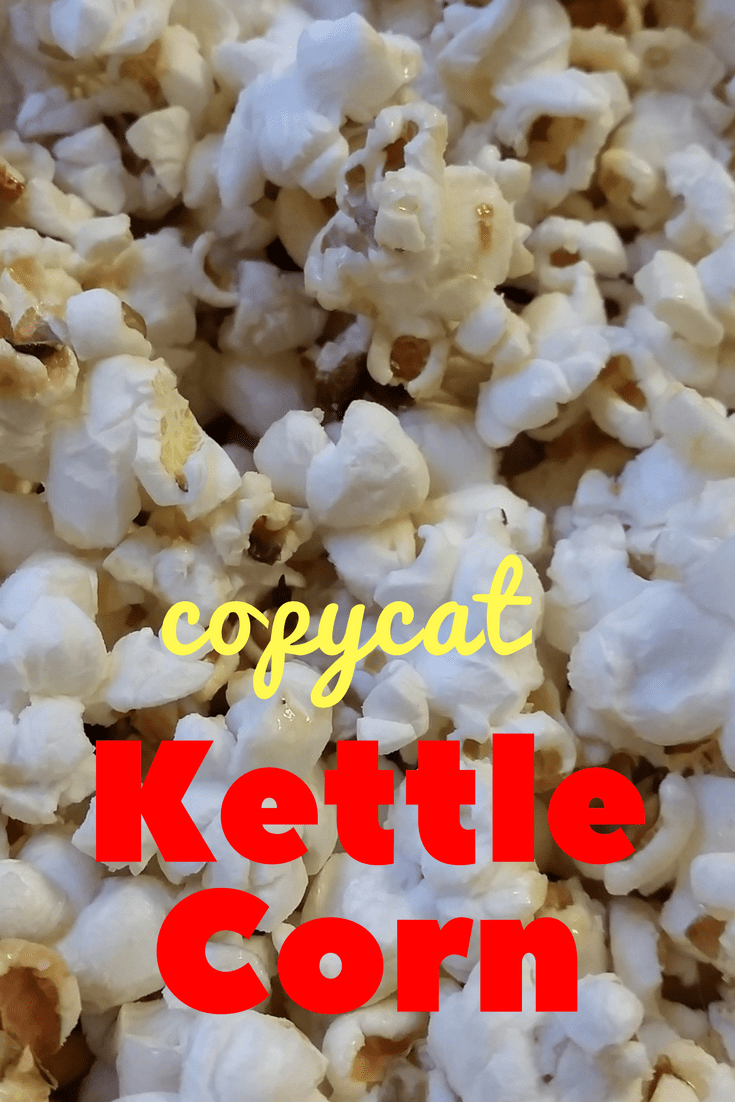 Copycat Kettle Corn #FantasticalFoodFight