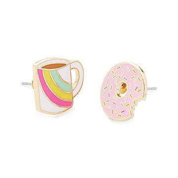 Donut & Coffee earrings