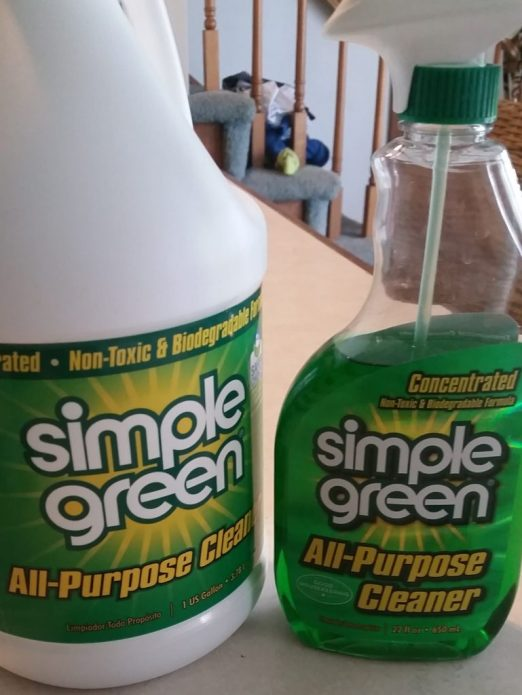 simple green solution