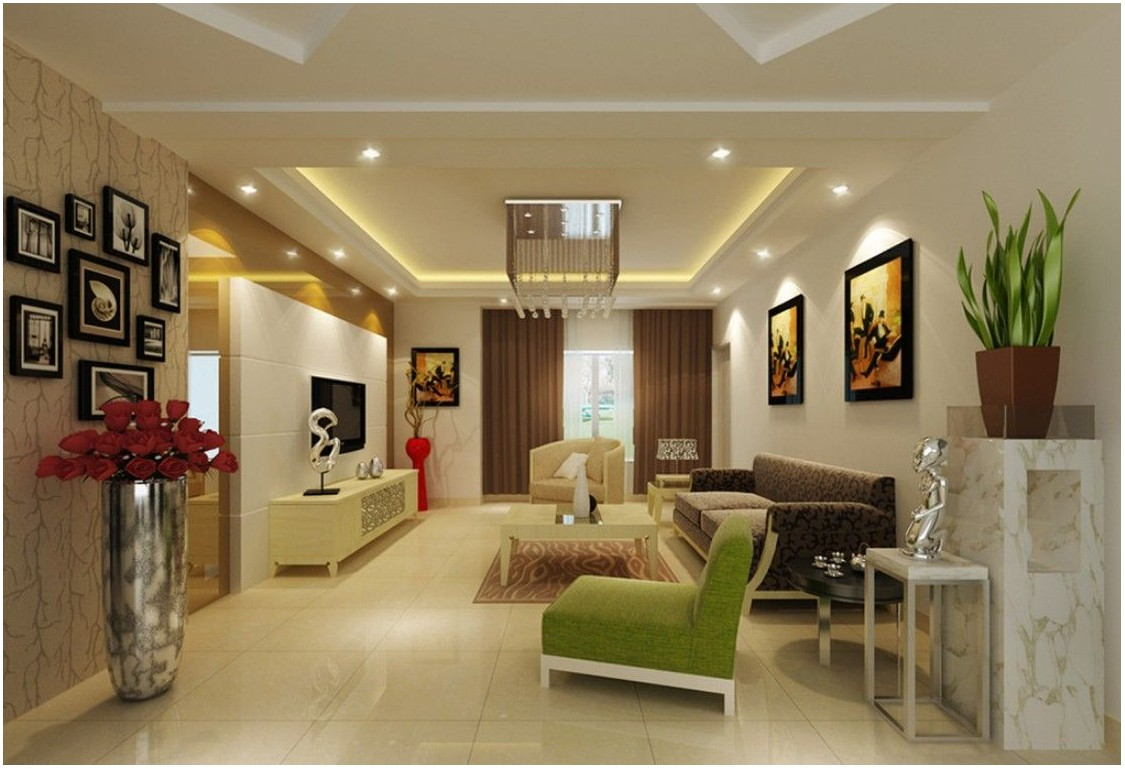 3d View Interior Of Living Room