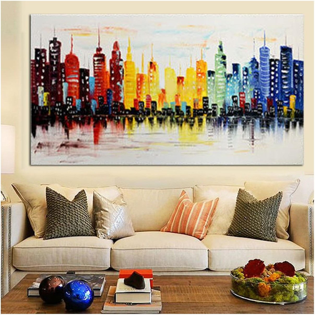 Abstract Living Room Paintings