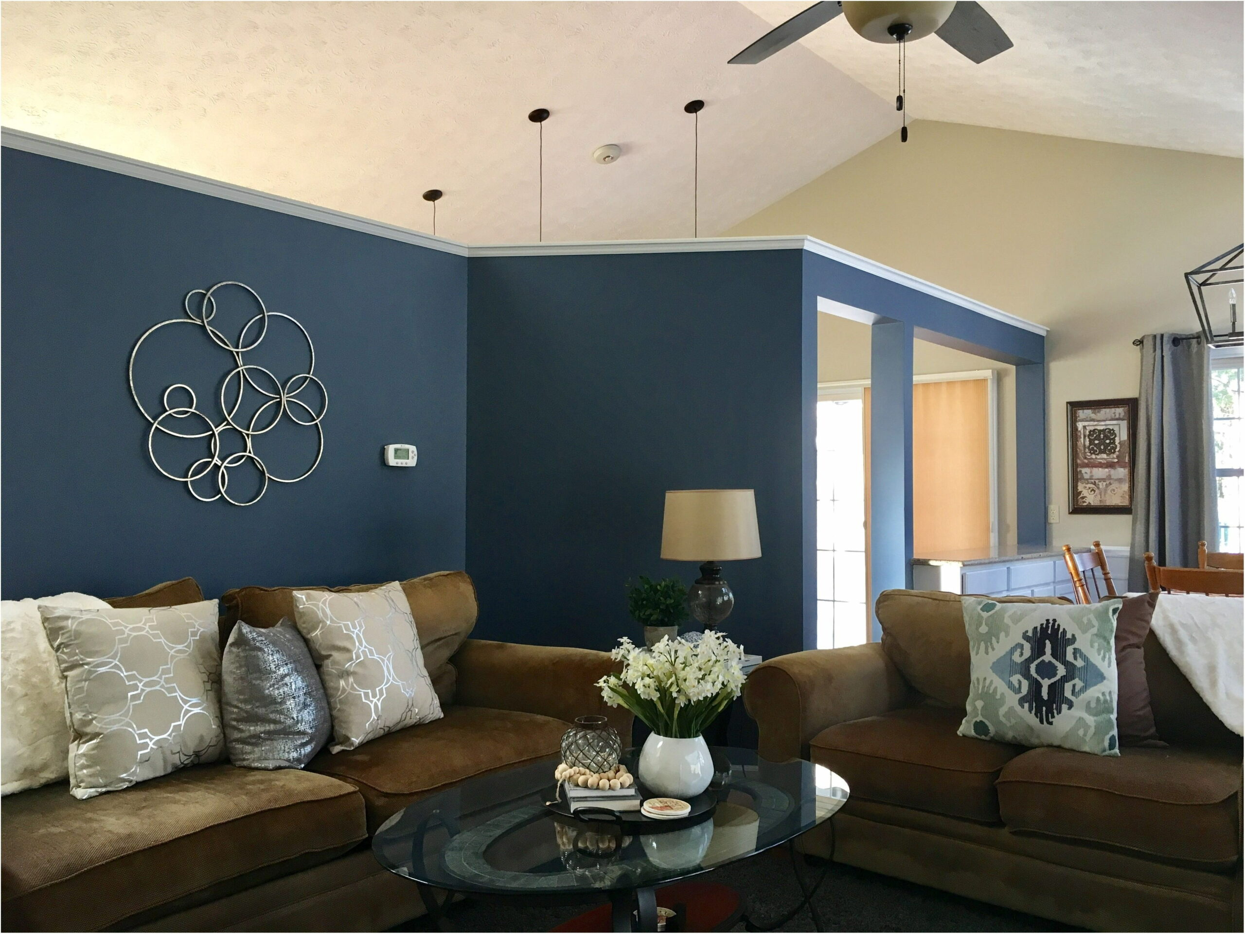 Accent Wall Paint Living Room