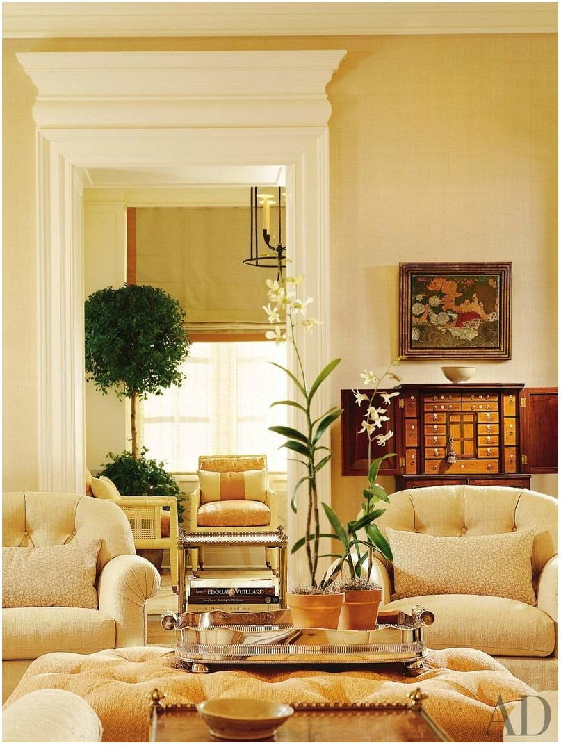 Apricot Paint Living Room