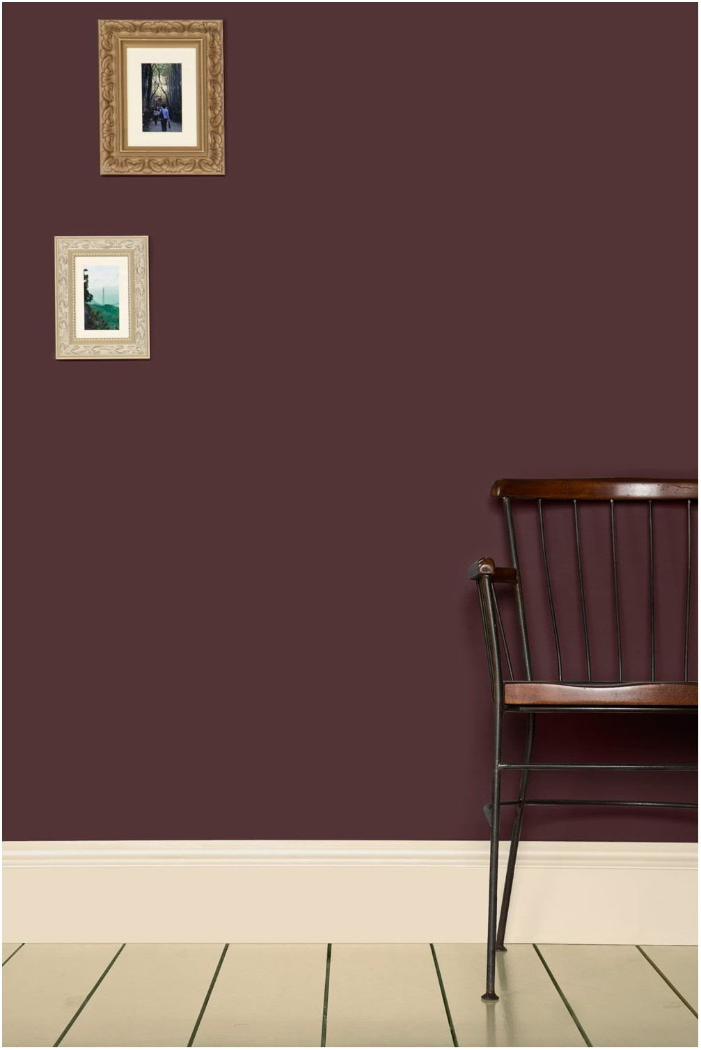 Aubergine Paint Living Room