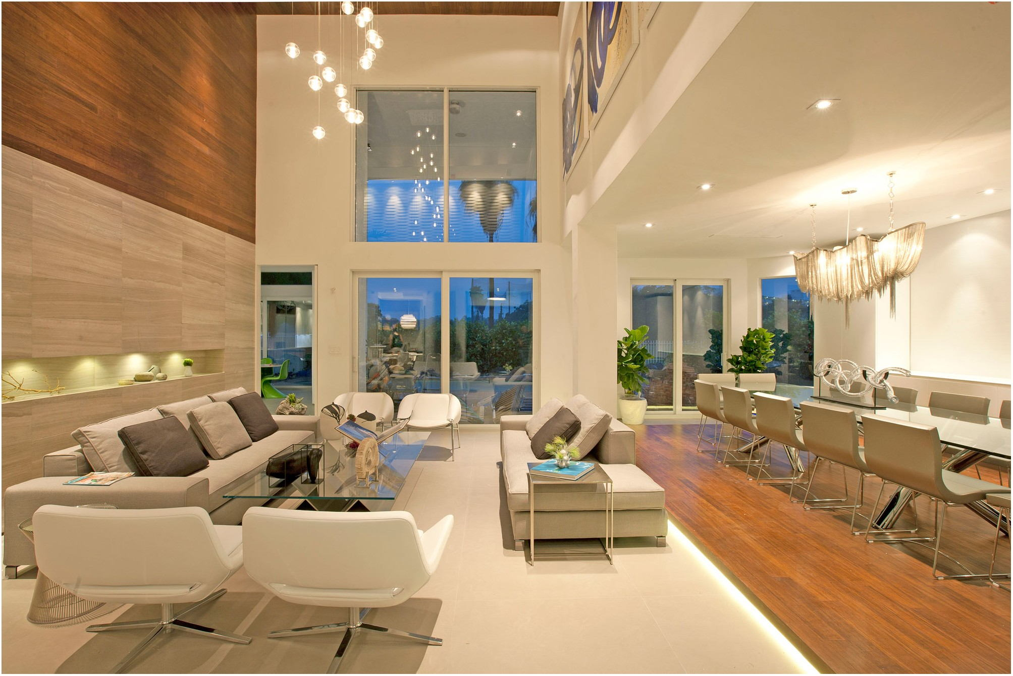 Beautiful Living Room Interior House In Miami