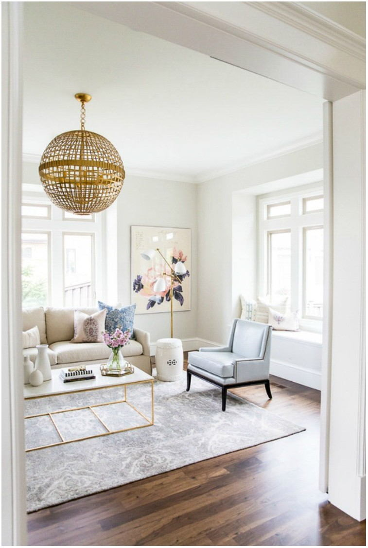 Best White Living Room Paint Colors