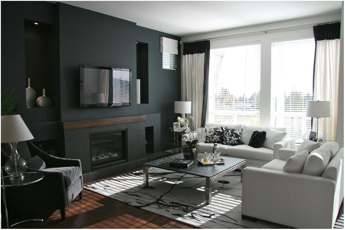 Black Living Room Paint Colors