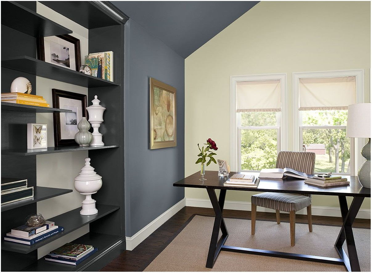 Blue Gray Wall Paint Living Room