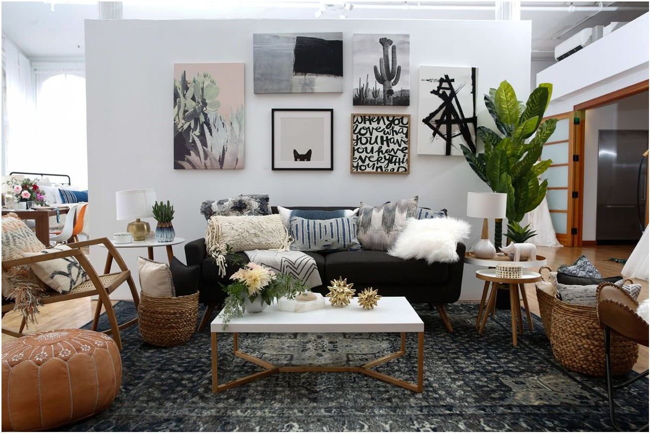 Boho Interior Design Living Room