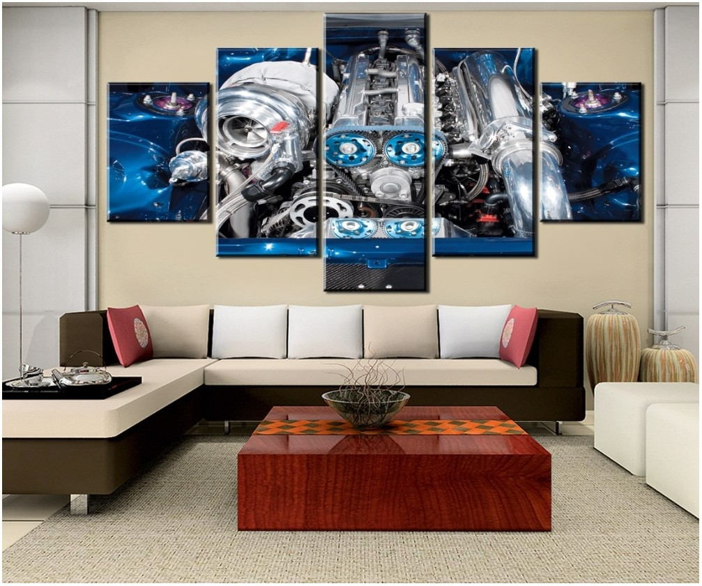 Car Painting For Living Room