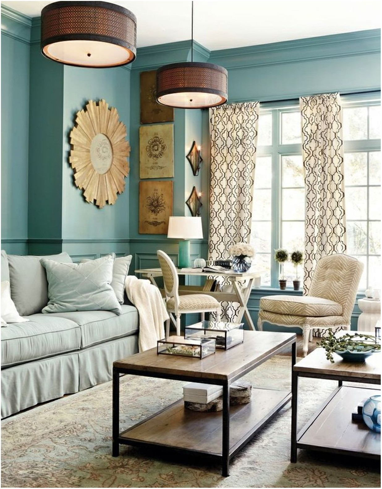 Double Paint For Living Room