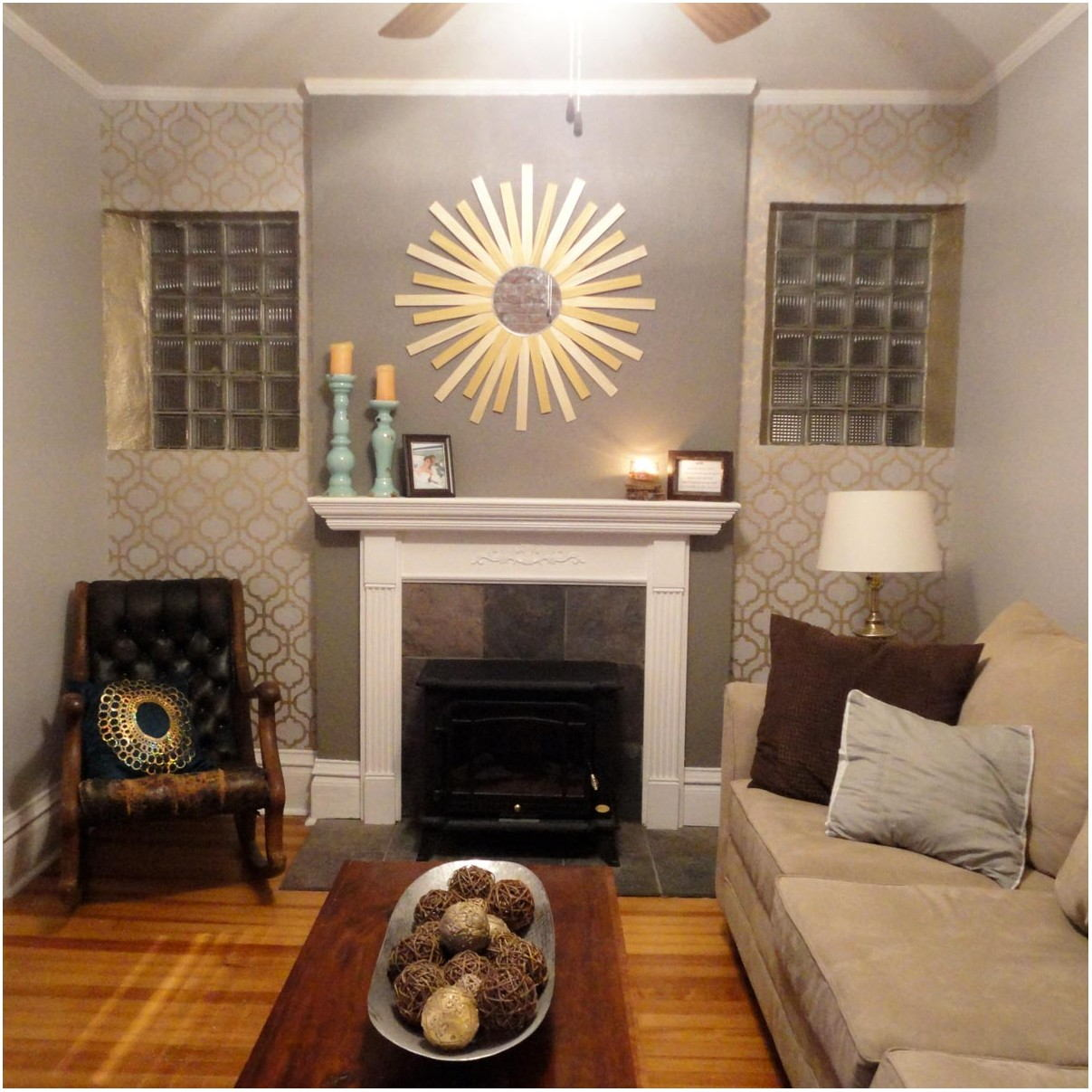 Feature Wall Living Room Paint