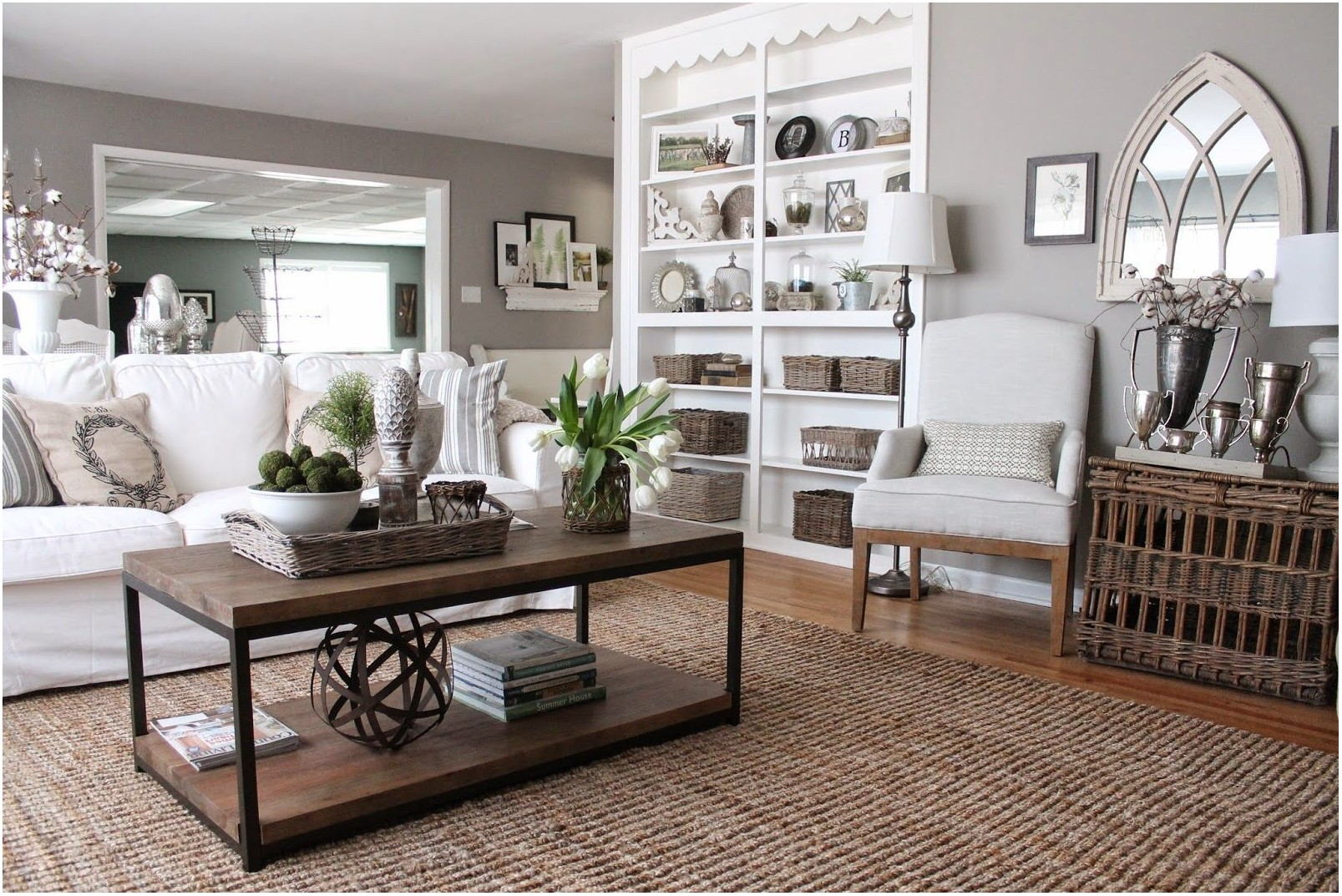 Gray Taupe Living Room Paint