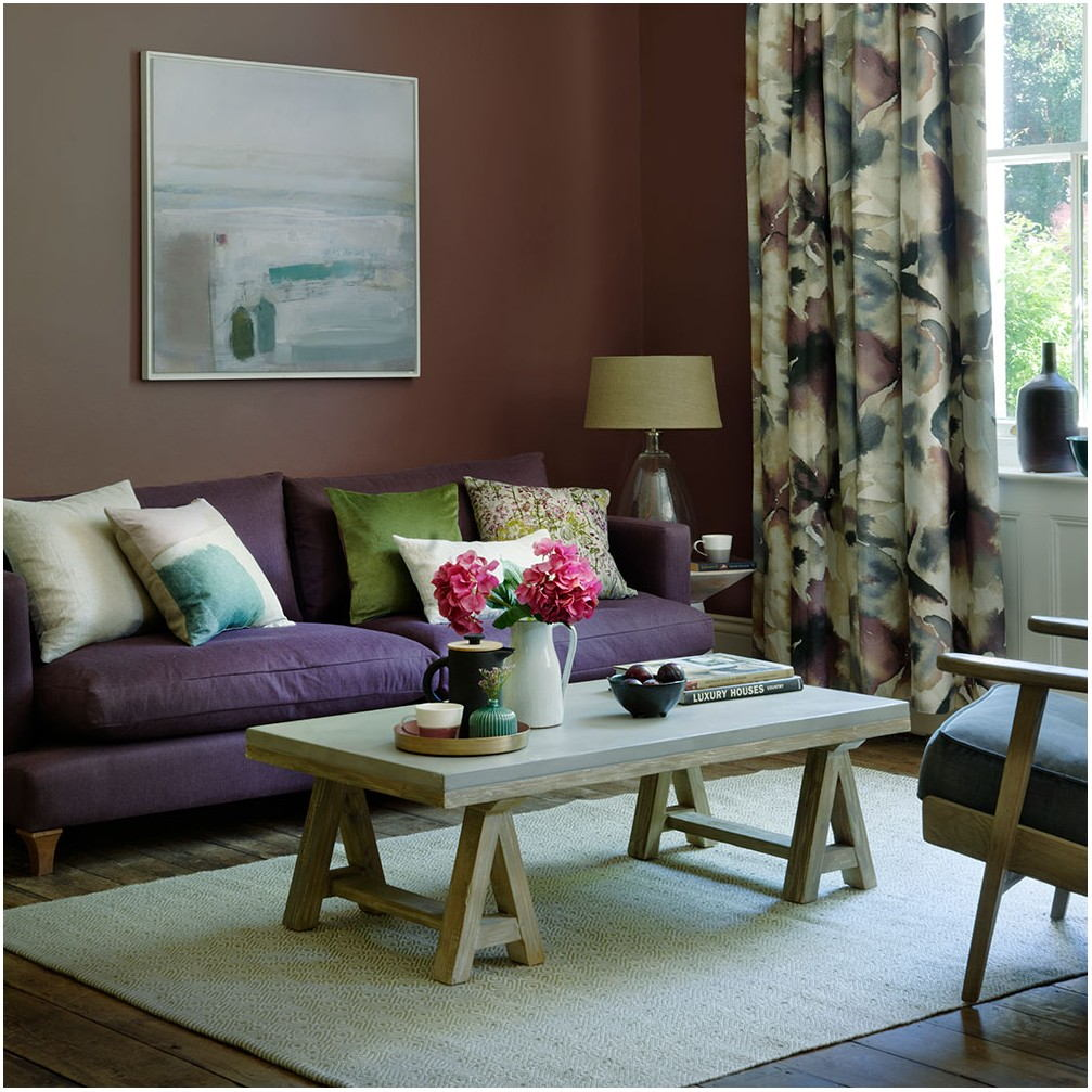 Ideas For Painting A Living Room Brown