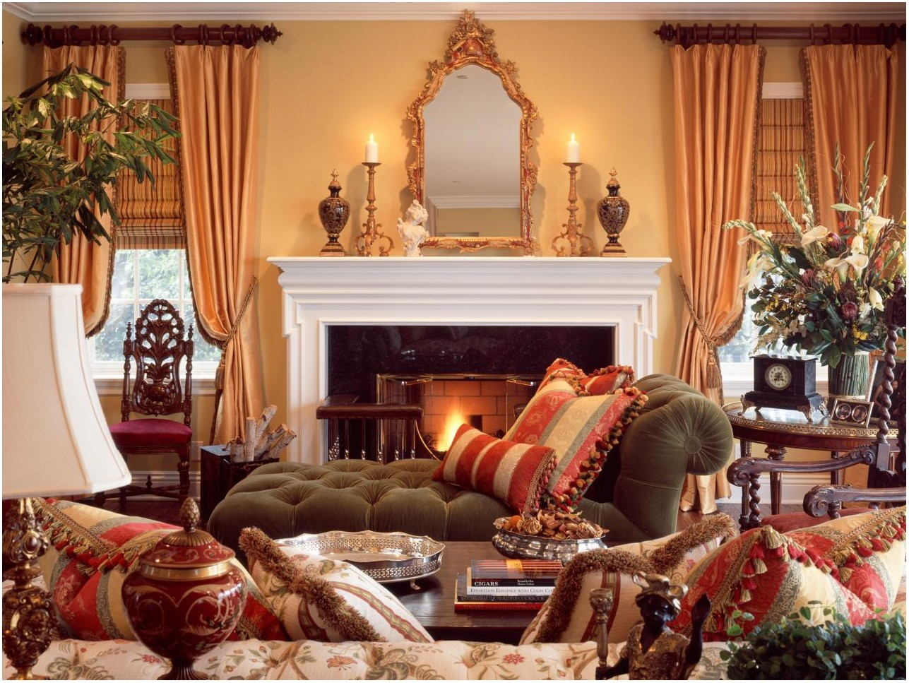Interior Decorating Ideas Traditional Living Room