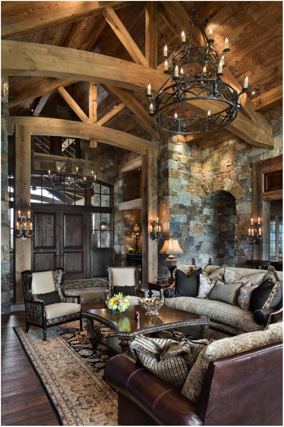 Interior Design Mountain Home Living Room