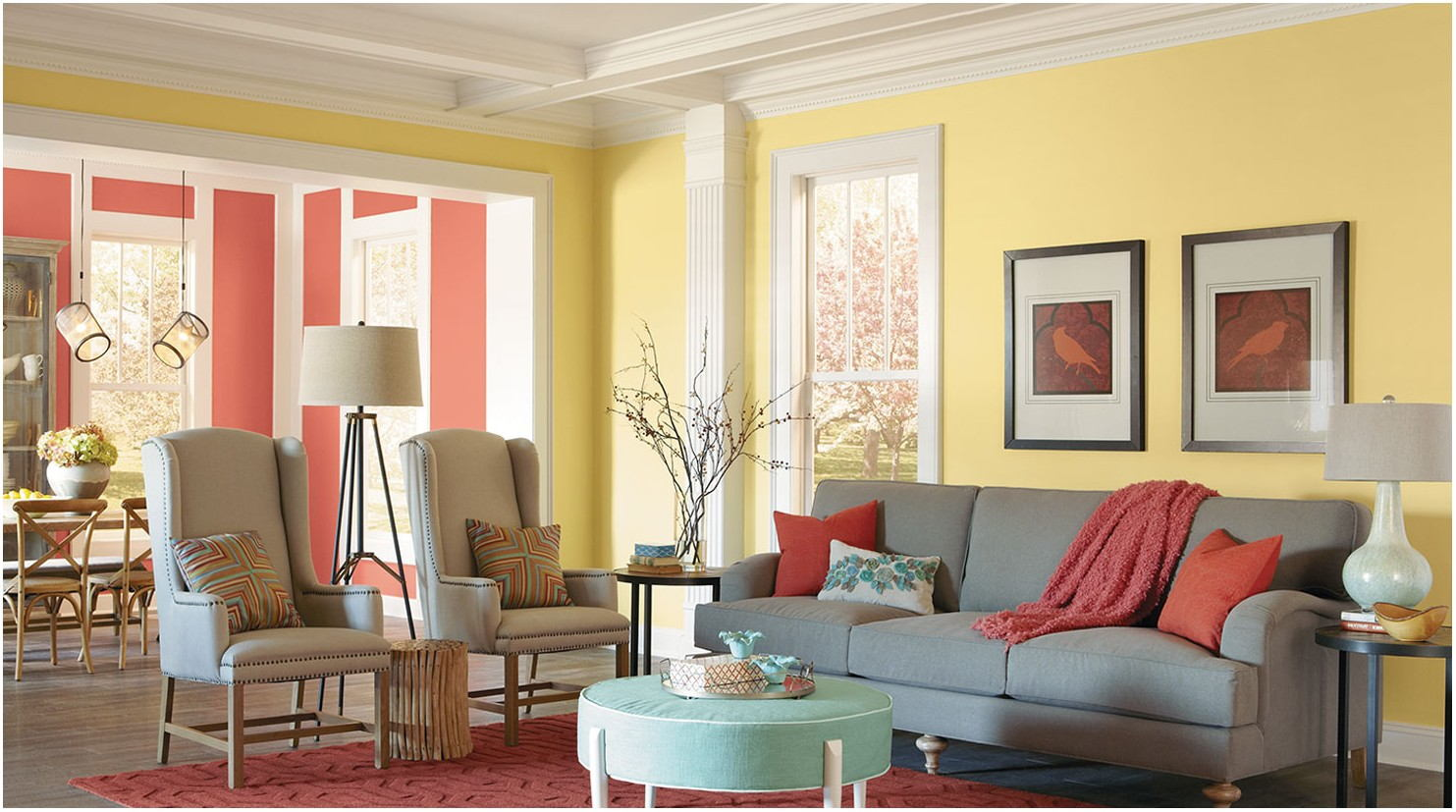 Interior Of A Living Room With Pictures
