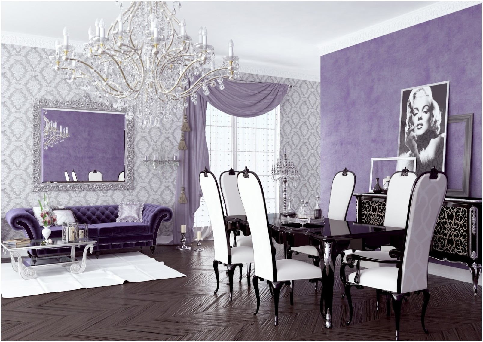 Lavender Interiors Living Room