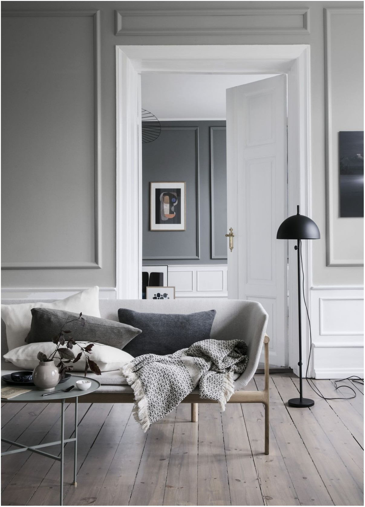 Living Room Grey Paint Colours