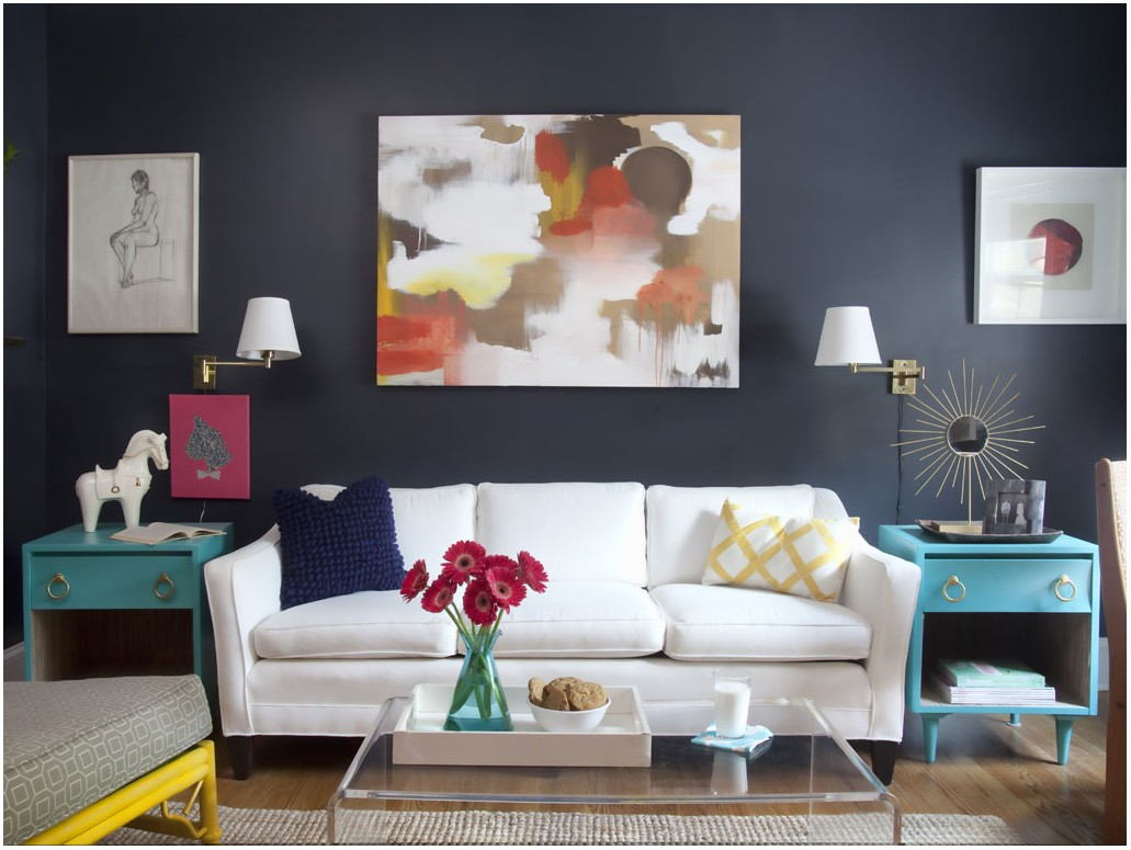 Living Room Paint Colors With White Furniture