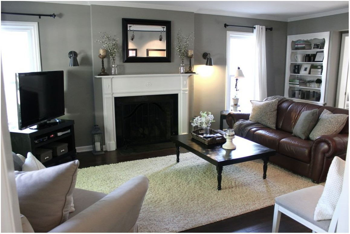 Living Room Paint With Brown Furniture