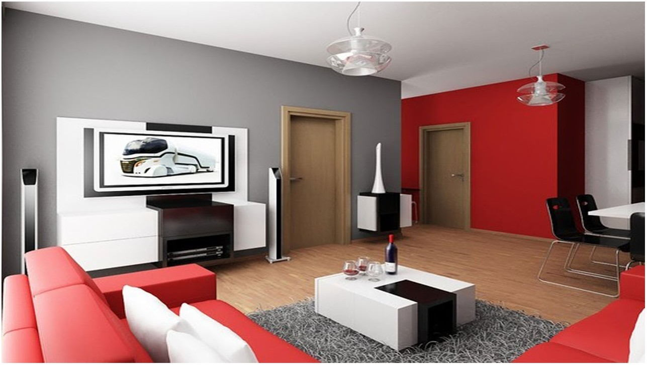 Living Room Painting Design In Nigeria