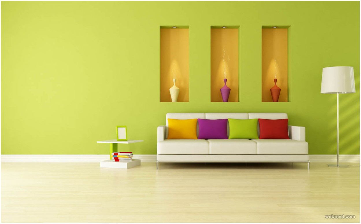 Living Room Wall Designs Paint