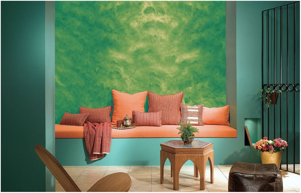 Living Room Wall Texture Paint