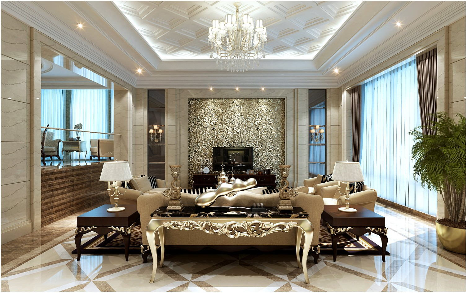 Luxury Design Living Room Interiors
