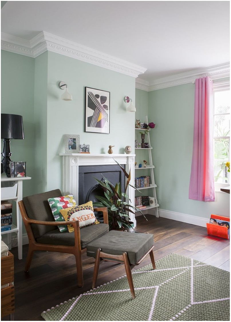 Mint Green Paint Living Room