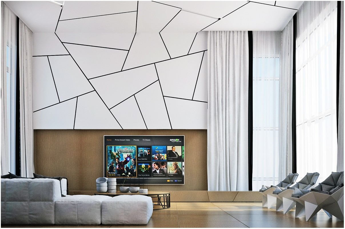 Modern Living Room Painting Designs