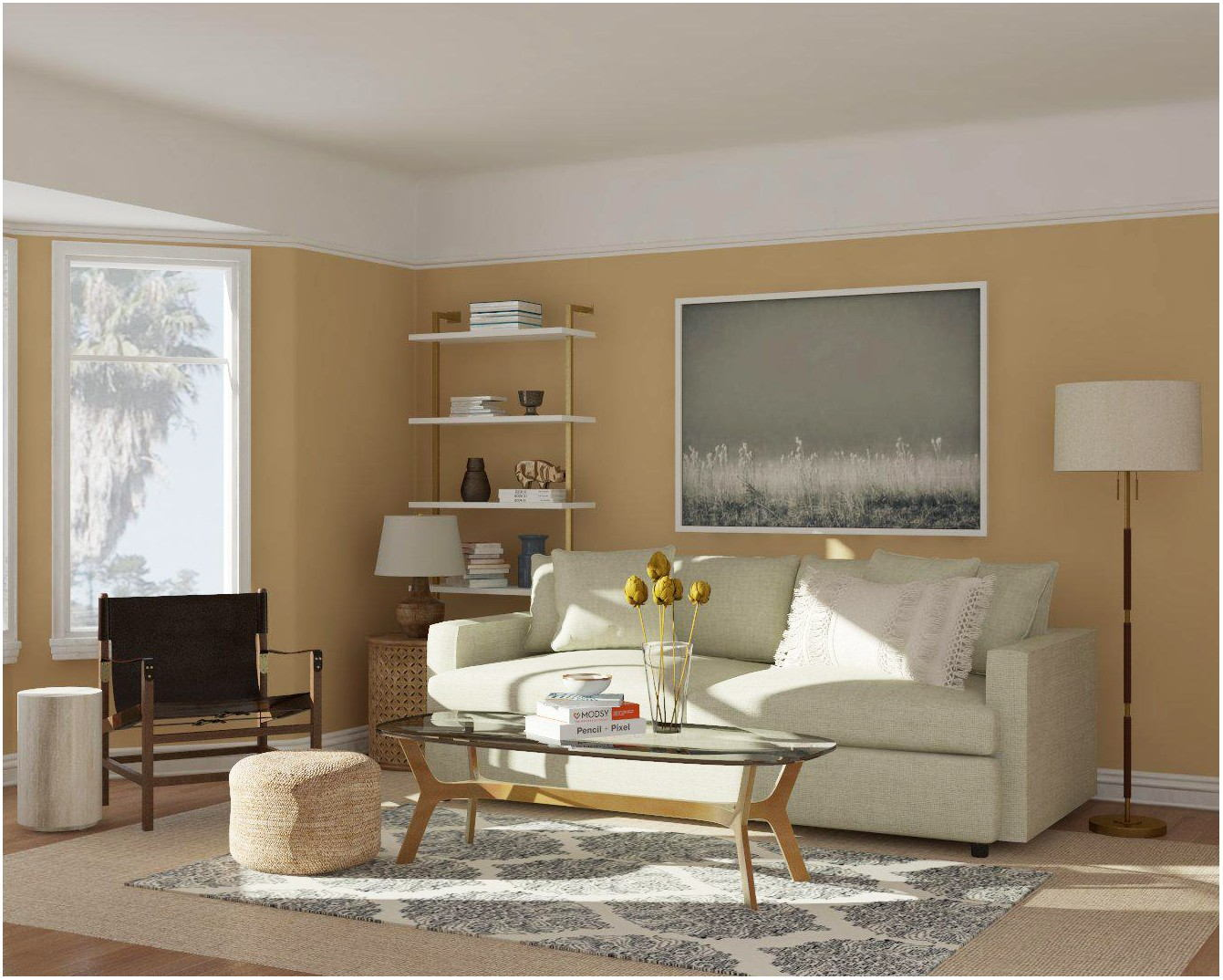 Paint Colors For Bright Living Room
