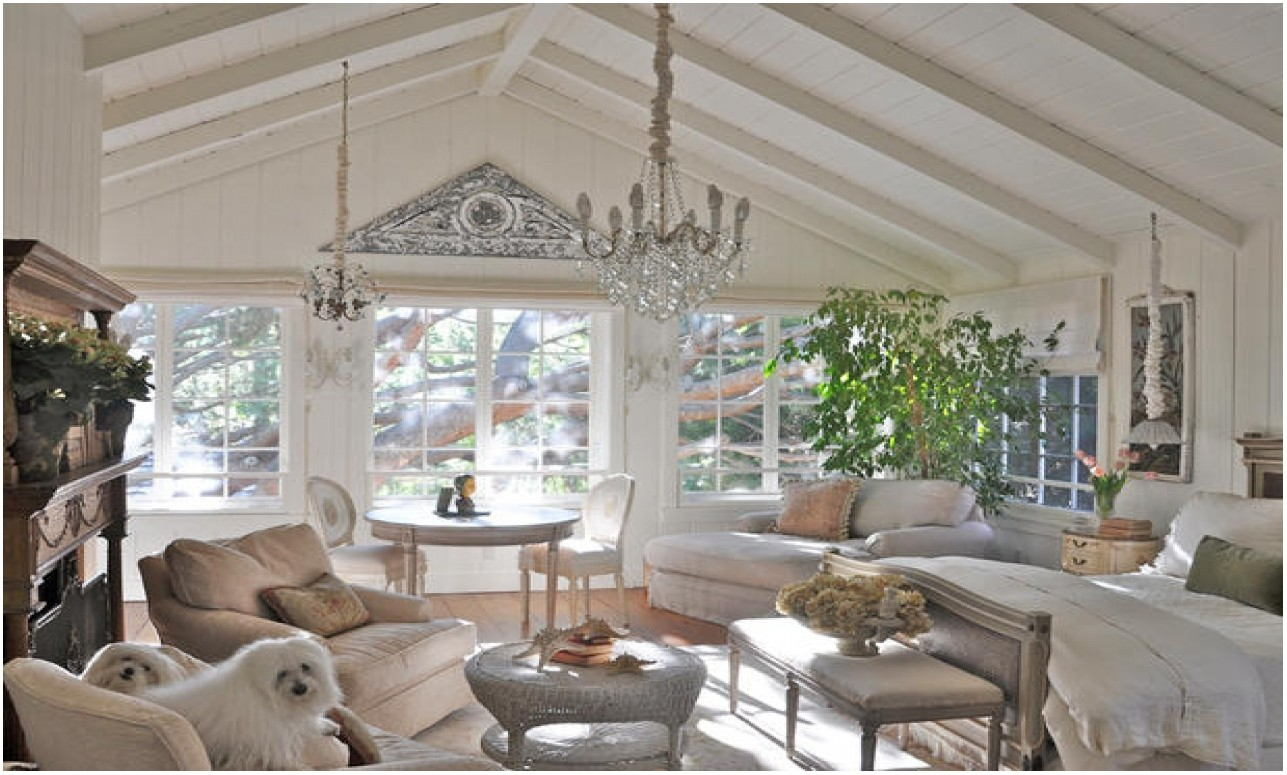 Painting Architectural Vaulted Living Room Ceilings