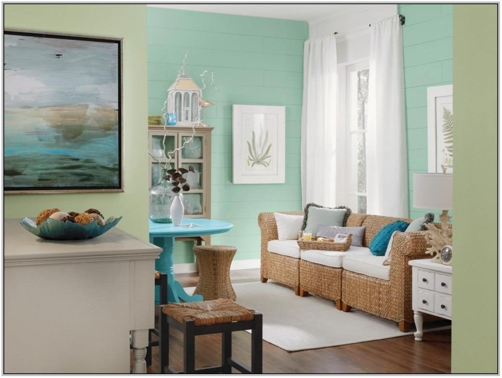 Painting Your Living Room Two Colors