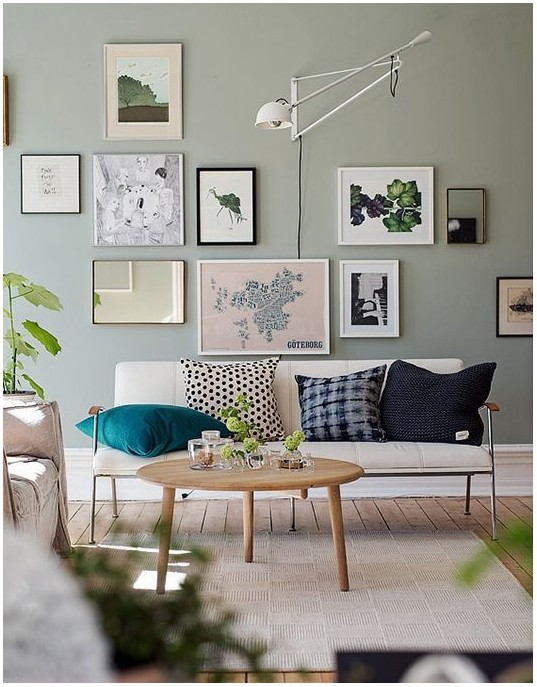 Pinterest Green Painted Walls Living Room