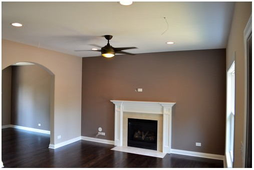 Poised Taupe Paint Living Room