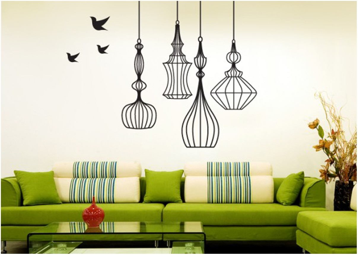 Simple Wall Paint Designs For Living Room