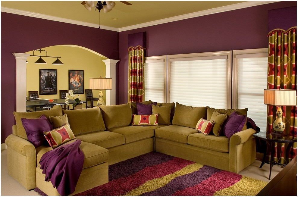 Soft Gold Living Room Paint Colors