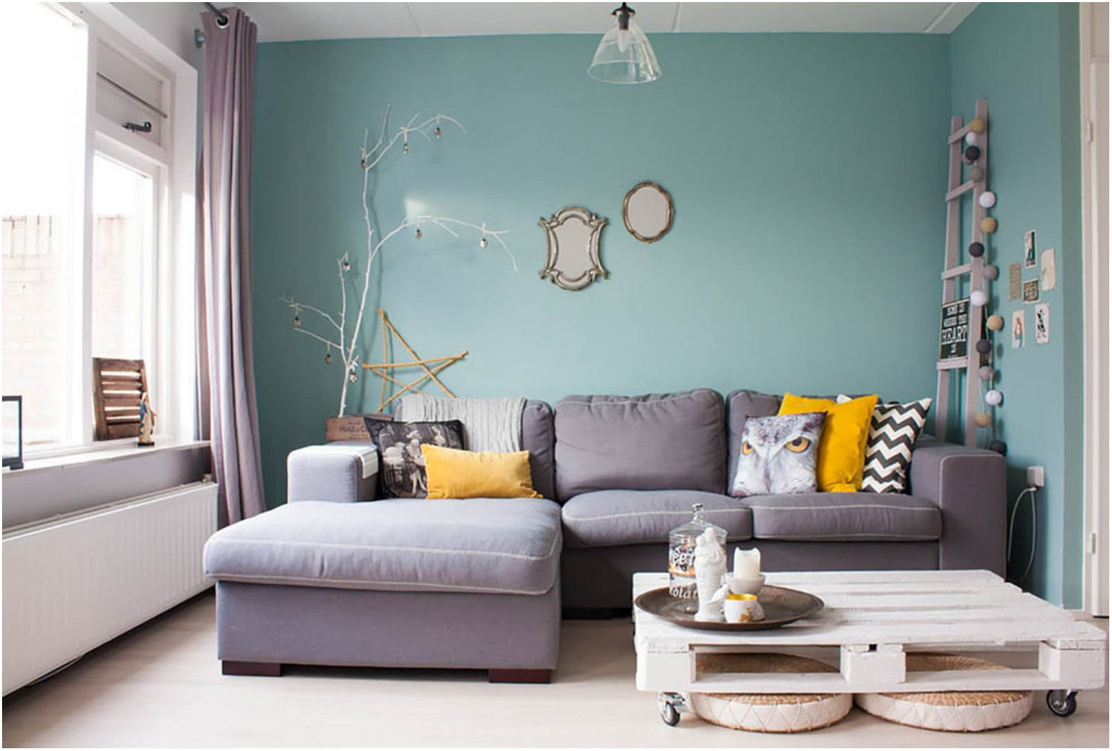Teal Paint Colors For Living Room