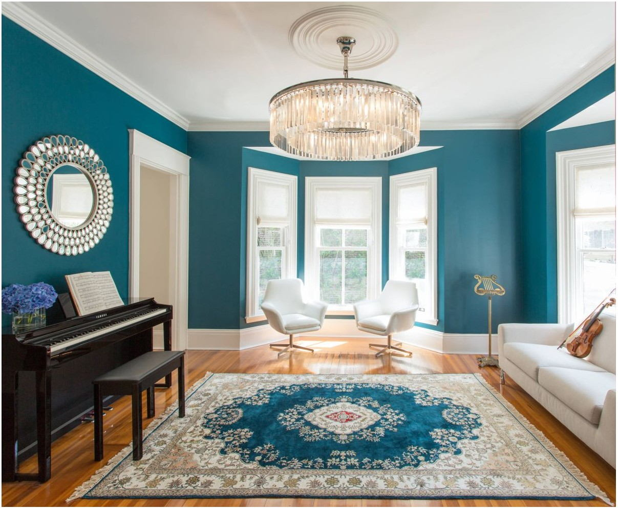 Teal Paint Living Room