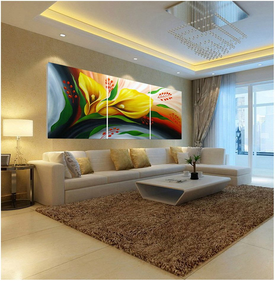 Wall Painting For Living Room Abstract