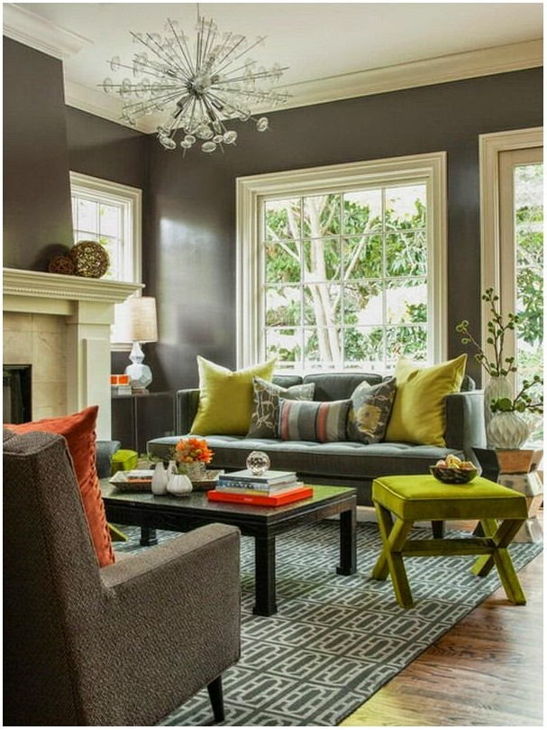 Warm Gray Paint For Living Room
