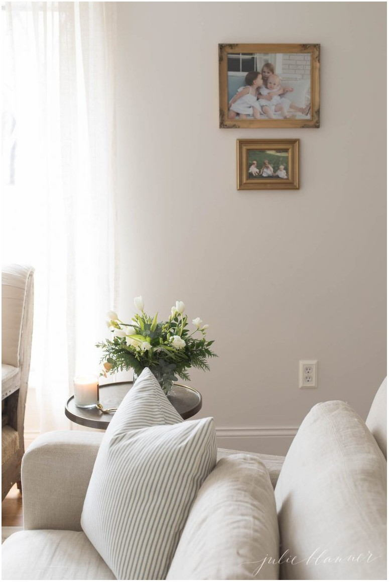 White Wall Paint Living Room