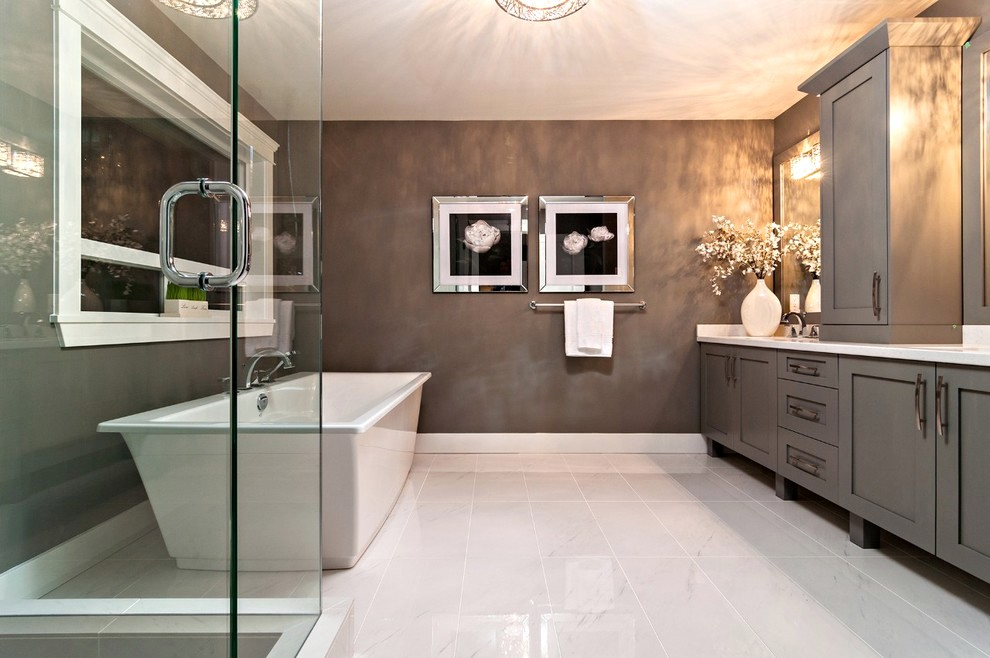 Bathroom Colors With Gray Floor