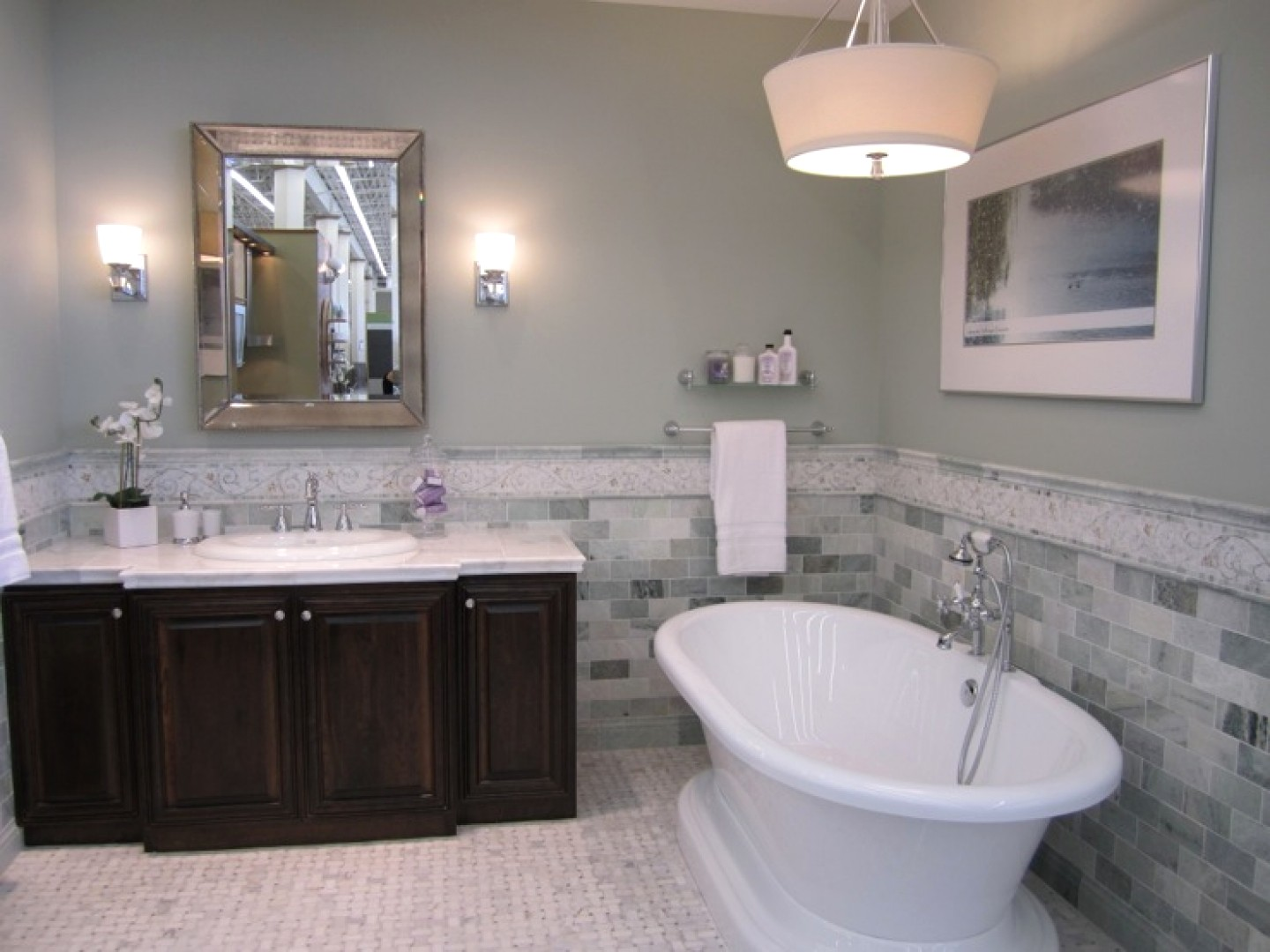 Bathroom Colors With Gray