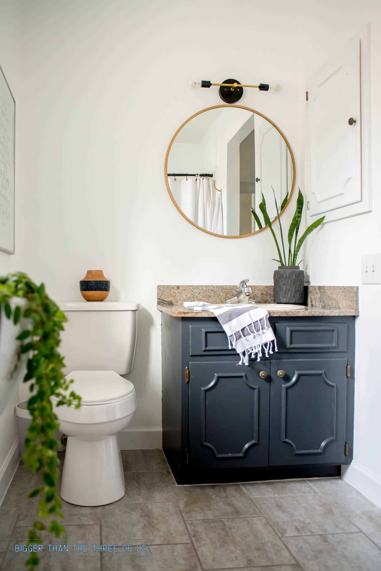 Bathroom Paint Colors With Dark Cabinets